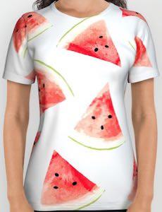 Watermelon Pieces T-Shirt