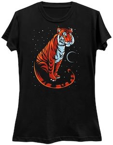 Tiger With A Tail T-Shirt