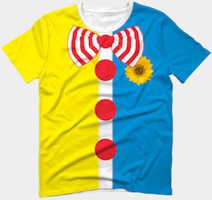 Clown Costume T-Shirt