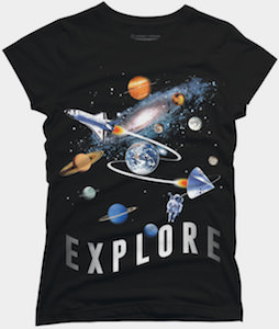 Space Explore T-Shirt