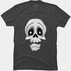 Big Smile Skull T-Shirt
