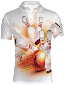 Bowling Strike Polo Shirt