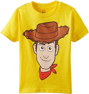 The Face Of Woody T-Shirt