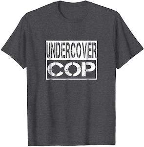Undercover Cop Costume T-Shirt