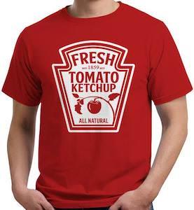 Tomato Ketchup Logo T-Shirt