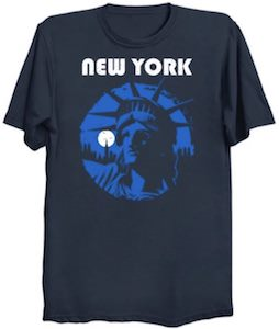 New York Liberty Face T-Shirt