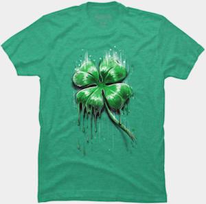 Melting Shamrock T-Shirt