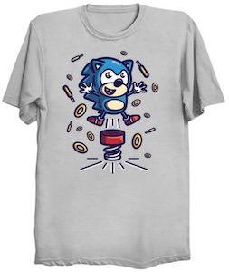 Sonic Going Boing T-Shirt