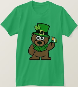Bear Ready For St Patrick's Day T-Shirt
