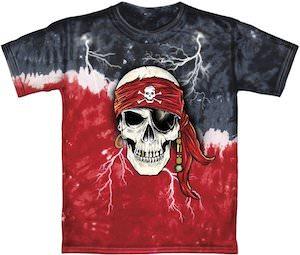 Tie-Dye Pirate T-Shirt