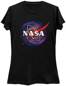 NASA Galaxy Logo T-Shirt