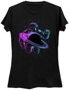 Looking At Saturn T-Shirt