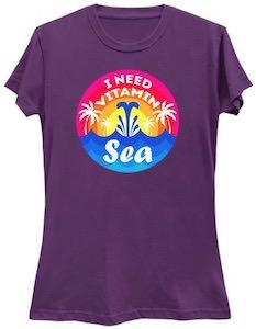 I Need The Sea Vitamins T-Shirt