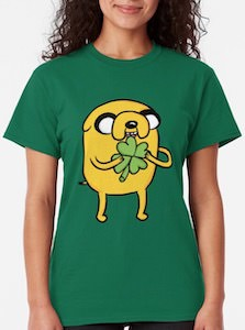 Jake From Adventure Time St Patrick's Day T-Shirt