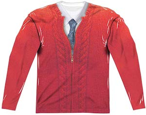 Mister Rogers Costume Long Sleeve T-Shirt