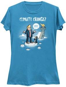 Donald Trump Climate Change? T-Shirt