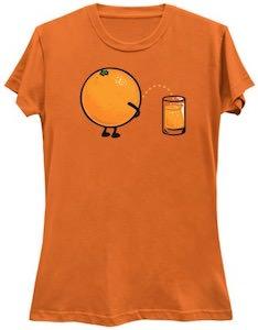 How Orange Juice Is Made T-Shirt