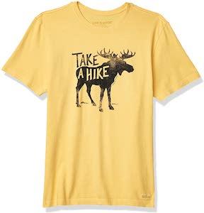 Moose Take A Hike t-shirt