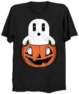 Ghost From A Pumpkin T-Shirt