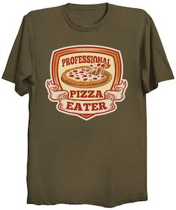 Professional Pizza Eater T-Shirt